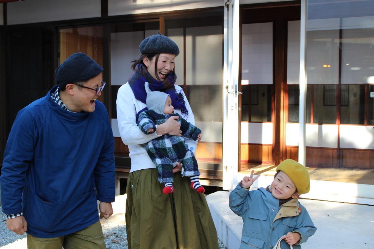 笑顔が絶えない大田さん家族
